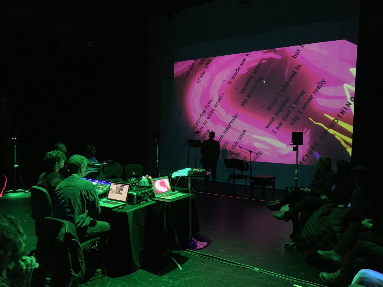 live computer music & visuals at ACMC'19